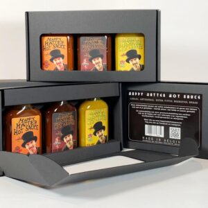 happy hatter hotsauce gift pack